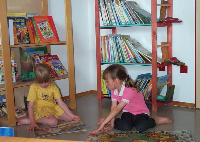 Die Räumlichkeiten sind individuell und variieren - kindergarten buecherei